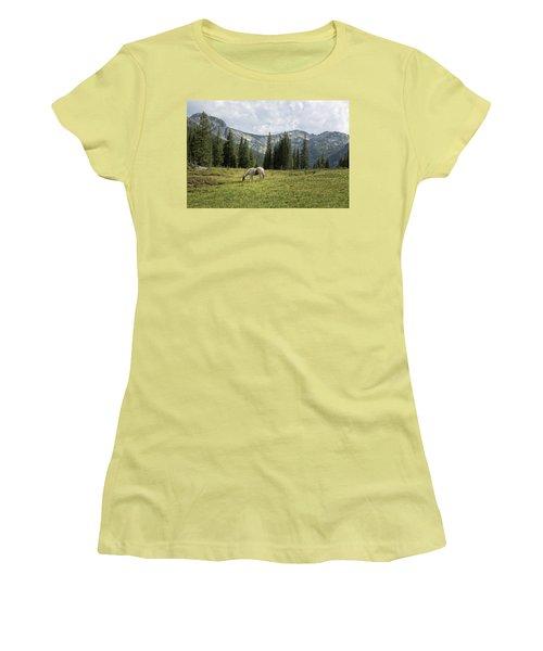 Wallowas - No. 2 Women's T-Shirt (Athletic Fit)