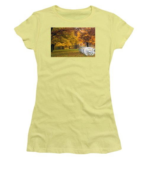 War And Peace Women's T-Shirt (Junior Cut) by Paul W Faust -  Impressions of Light