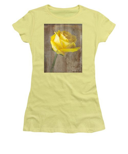 Warm My Heart Women's T-Shirt (Junior Cut) by Arlene Carmel