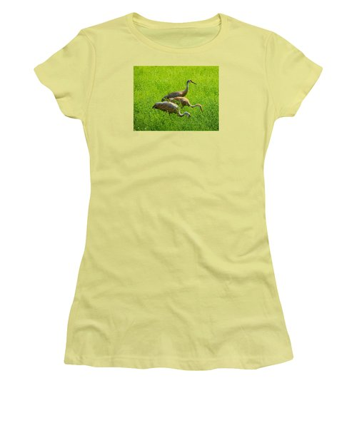 Watch Out Women's T-Shirt (Athletic Fit)