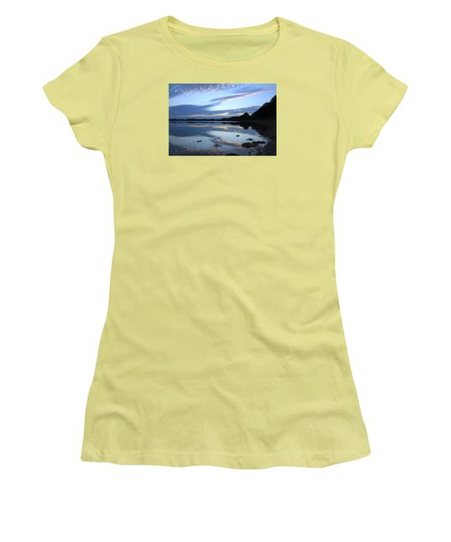 When Gold Turned To Blue Women's T-Shirt (Junior Cut) by Wendy Wilton