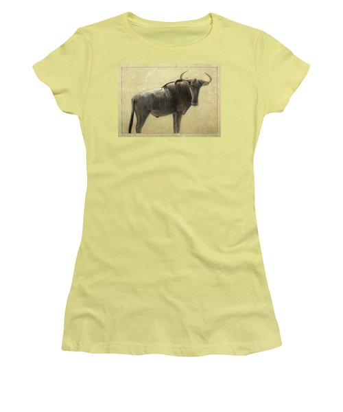 Wildebeest Women's T-Shirt (Athletic Fit)