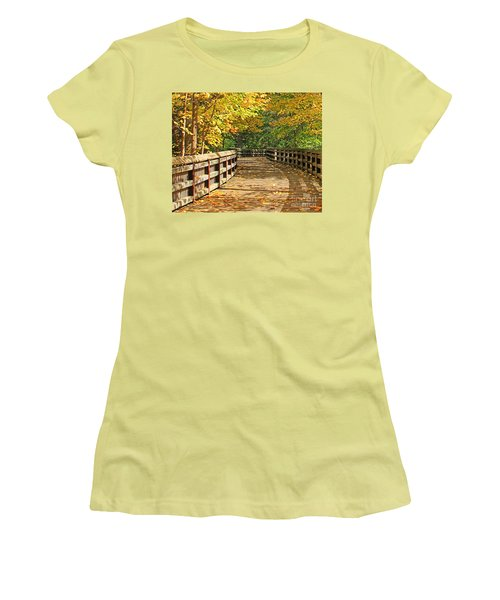 Wildwood Boardwalk Corrected Women's T-Shirt (Athletic Fit)
