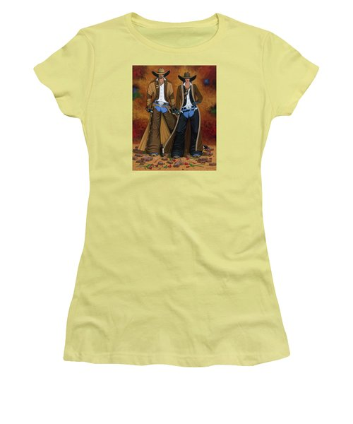 Wine And Roses Women's T-Shirt (Junior Cut) by Lance Headlee
