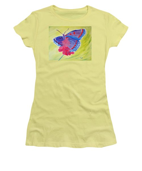 Winged Delight Women's T-Shirt (Athletic Fit)