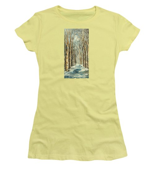 Winter Dreams Women's T-Shirt (Athletic Fit)