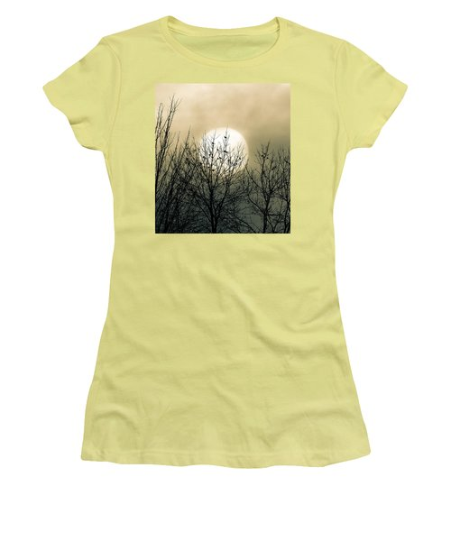 Winter Into Spring Women's T-Shirt (Athletic Fit)