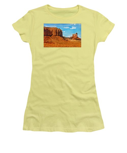 Women's T-Shirt (Junior Cut) featuring the photograph Witnesses Of Time by Hanny Heim
