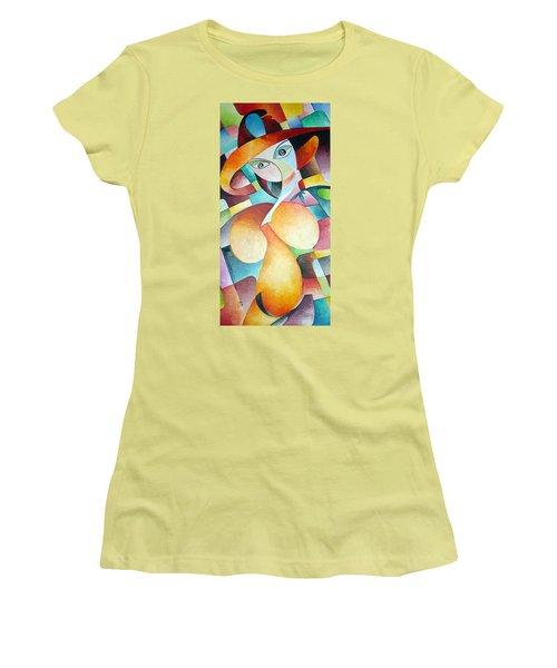 Woman Women's T-Shirt (Junior Cut) by Dorothy Maier