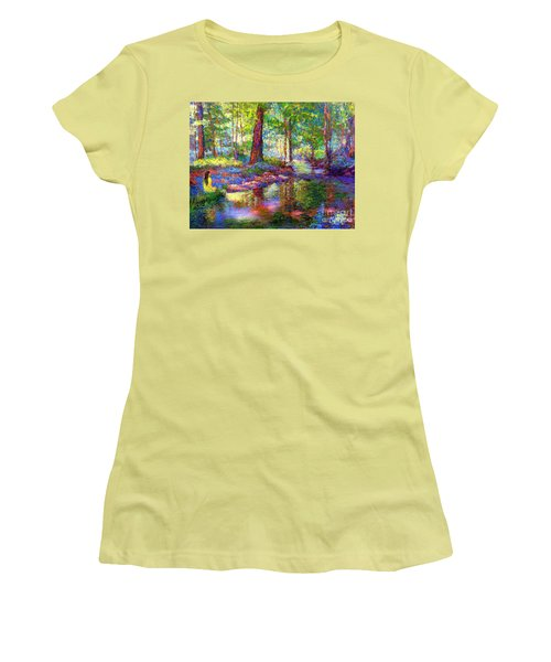 Woodland Rapture Women's T-Shirt (Athletic Fit)