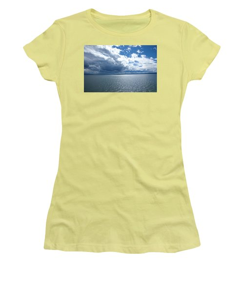 Yellowstone Lake Women's T-Shirt (Athletic Fit)