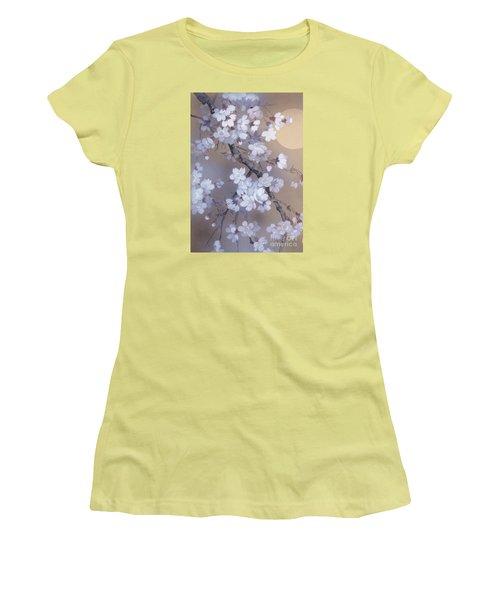 Yoi Crop Women's T-Shirt (Junior Cut) by Haruyo Morita
