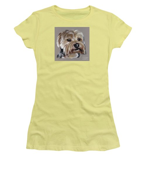 Yorkshire Terrier- Drawing Women's T-Shirt (Athletic Fit)