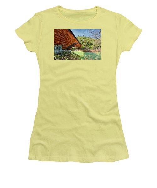 Women's T-Shirt (Junior Cut) featuring the photograph Yuba State Park by Jim Thompson