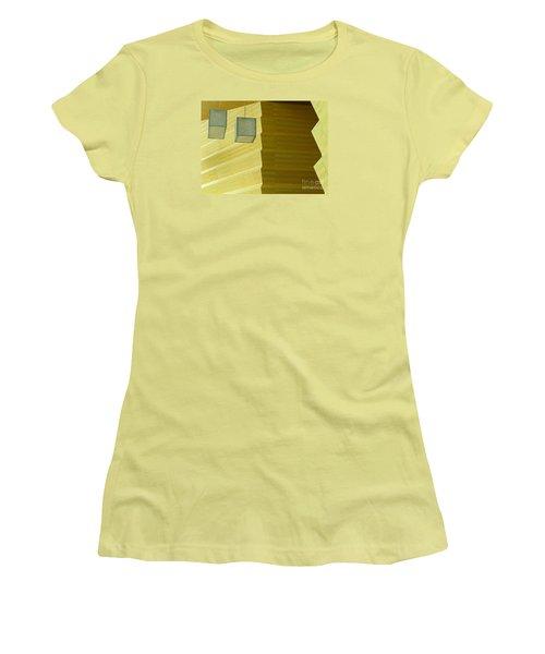 Zig-zag Women's T-Shirt (Junior Cut) by Ann Horn