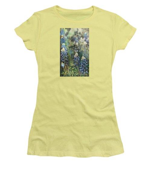 Bluebonnet Blessing Women's T-Shirt (Athletic Fit)