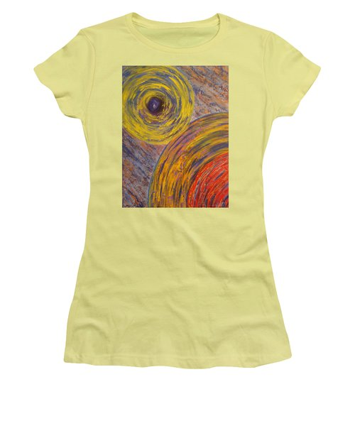 Centrifugal Whirls Women's T-Shirt (Athletic Fit)