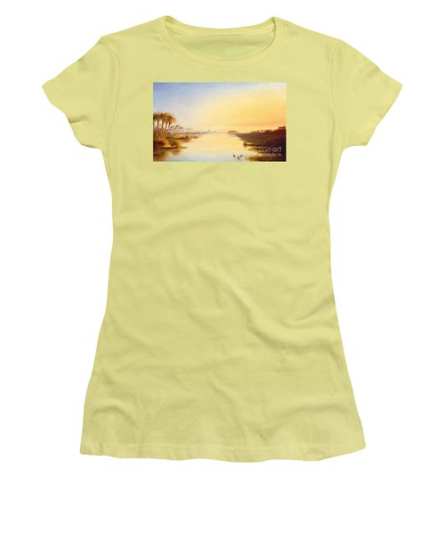 Egyptian Oasis Women's T-Shirt (Athletic Fit)