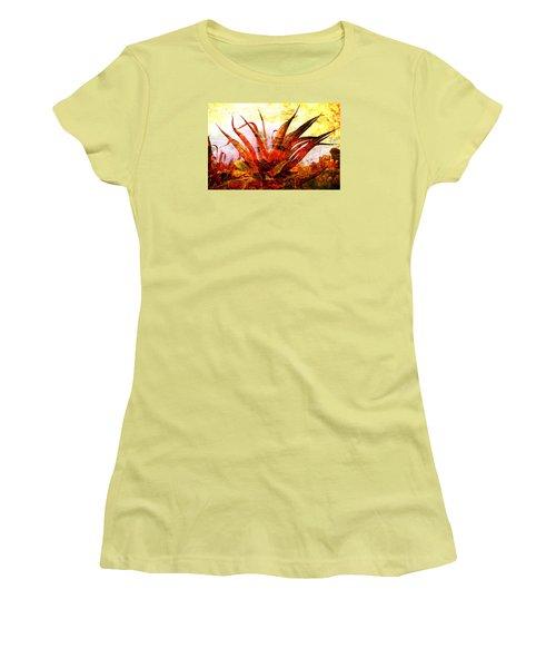 Maguey Women's T-Shirt (Junior Cut) by J- J- Espinoza