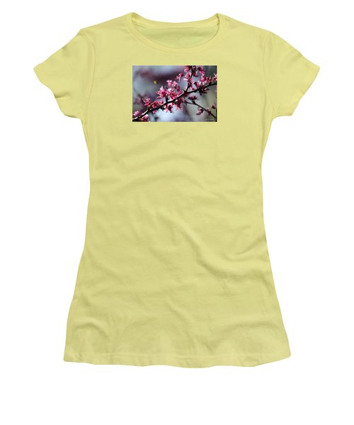 A Hint Of Spring  Women's T-Shirt (Athletic Fit)