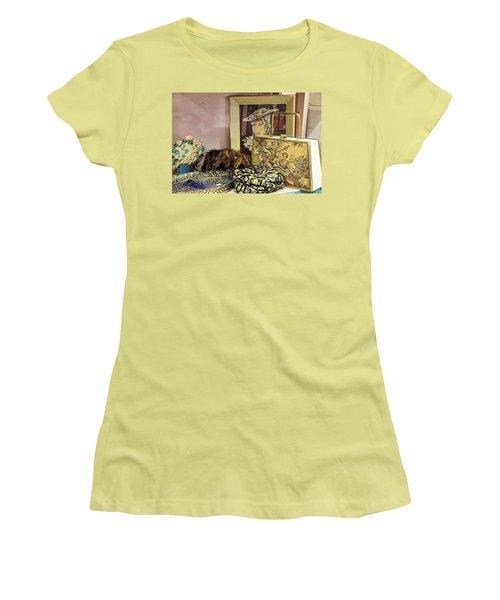 A Little Romance II Women's T-Shirt (Athletic Fit)