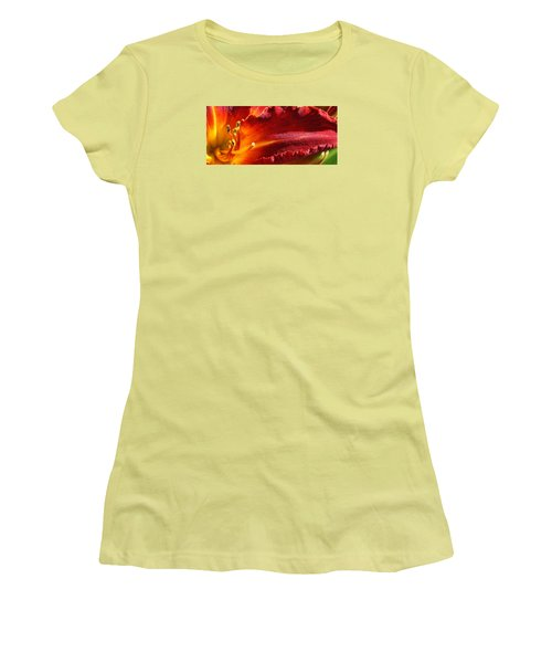 Women's T-Shirt (Junior Cut) featuring the photograph A Ray Of Beauty by Bruce Bley