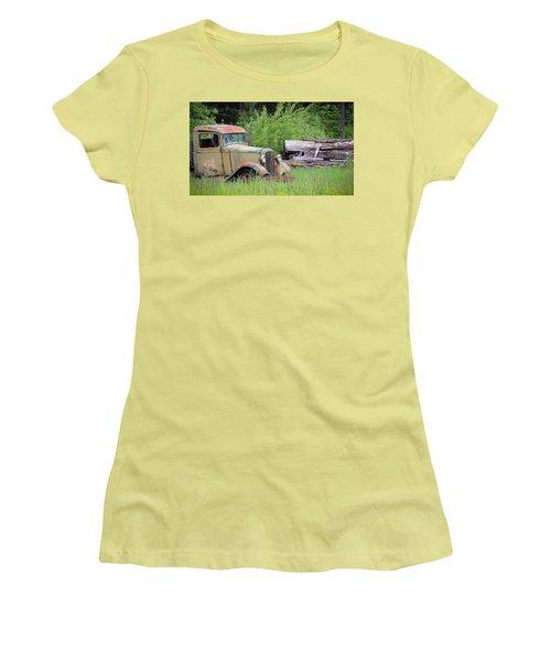 Abandoned Women's T-Shirt (Junior Cut) by Steve McKinzie