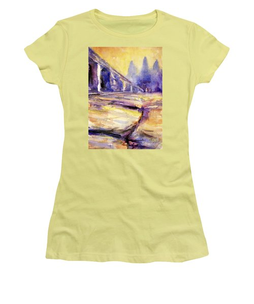 Angkor Wat Sunrise 3 Women's T-Shirt (Athletic Fit)