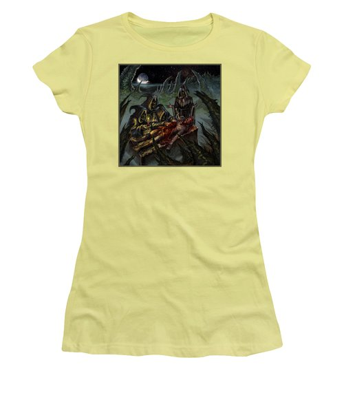 Autopsy Of The Damned  Women's T-Shirt (Junior Cut) by Tony Koehl