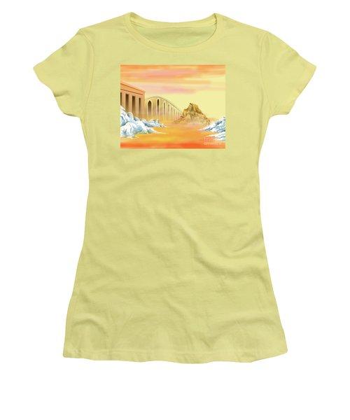 Bridges Of Parting Women's T-Shirt (Athletic Fit)