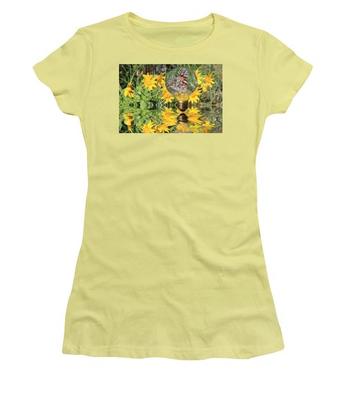 Butterfly In A Bulb II - Landscape Women's T-Shirt (Athletic Fit)