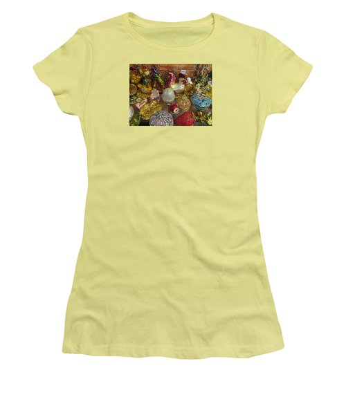 Women's T-Shirt (Junior Cut) featuring the photograph  Fancy And Colorful by Tina M Wenger