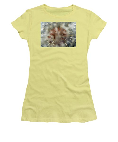 Dandelion Fluff Women's T-Shirt (Junior Cut) by Kay Lovingood