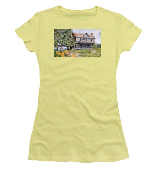 Days Gone By...sold Women's T-Shirt (Athletic Fit)