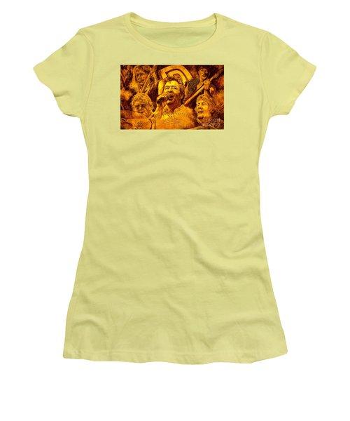 Deep Purple In Rock Women's T-Shirt (Junior Cut) by Igor Postash