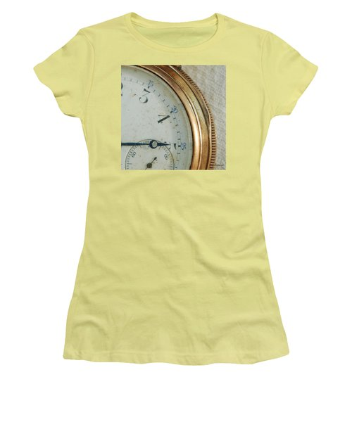 Women's T-Shirt (Junior Cut) featuring the photograph Details Of Time 2 by Kay Lovingood