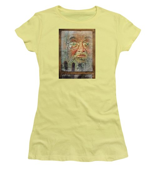 Women's T-Shirt (Junior Cut) featuring the digital art Don't You See Me?  I'm Here. .  by Rhonda Strickland