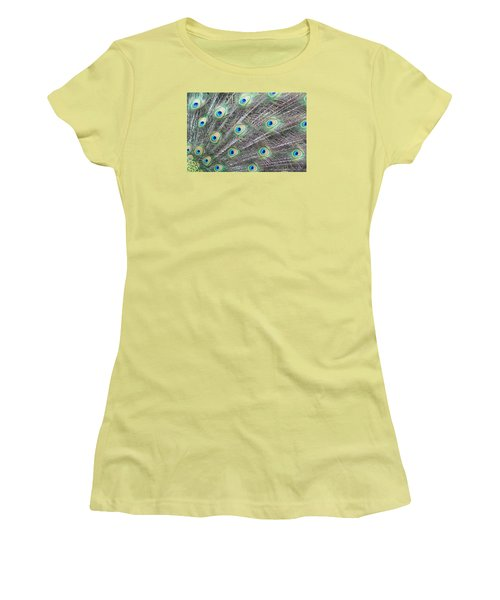 Dragon Eyes Women's T-Shirt (Junior Cut) by Amy Gallagher