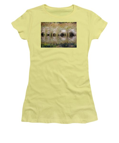Escape Hatches Women's T-Shirt (Junior Cut) by Kay Lovingood