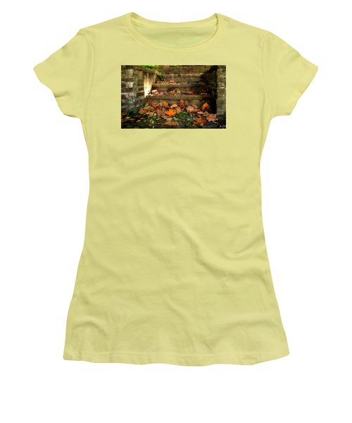 Women's T-Shirt (Junior Cut) featuring the photograph Fall by Brian Hughes