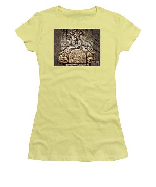 Fish Astrology Women's T-Shirt (Junior Cut) by Danuta Bennett