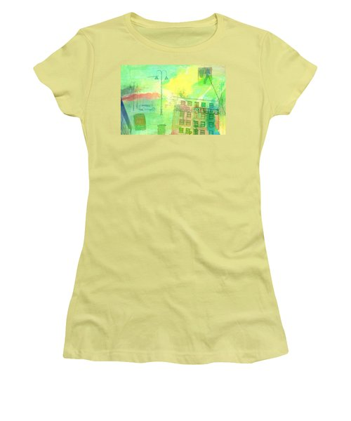 Going Places Women's T-Shirt (Junior Cut) by Susan Stone