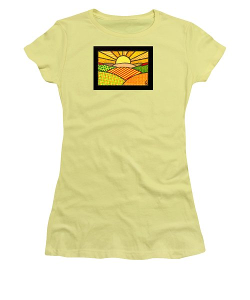 Good Day Sunshine Women's T-Shirt (Junior Cut) by Jim Harris