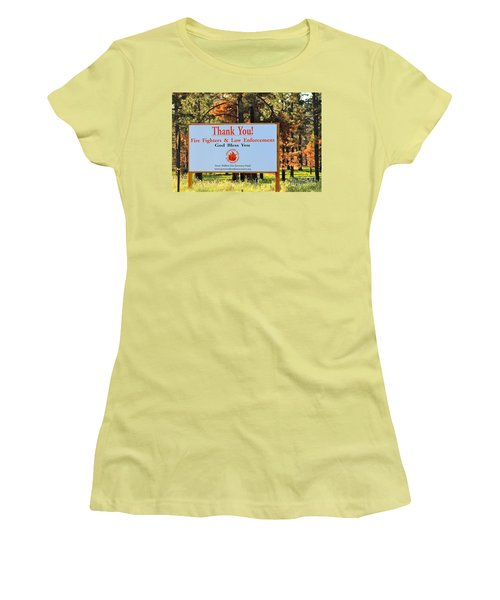 Gratitude Women's T-Shirt (Junior Cut)