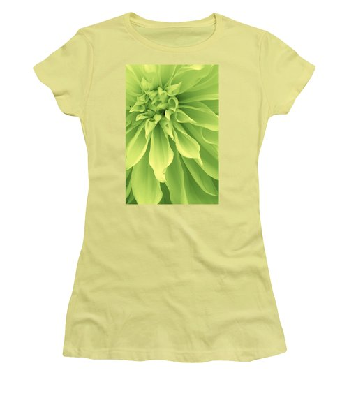 Women's T-Shirt (Junior Cut) featuring the photograph Green Sherbet by Bruce Bley