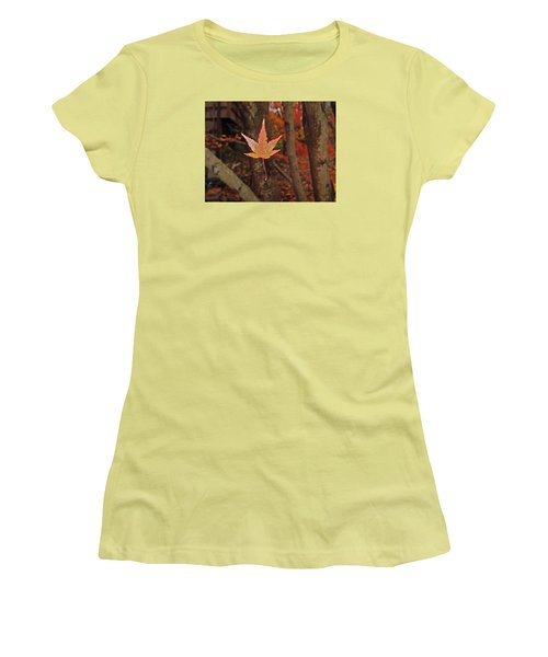 Women's T-Shirt (Junior Cut) featuring the photograph I Know- I Know- I See It by Cliff Spohn