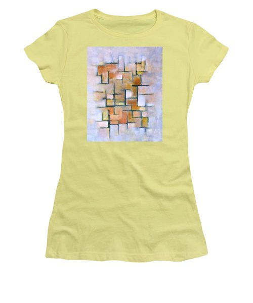 Line Series Women's T-Shirt (Junior Cut) by Patricia Cleasby