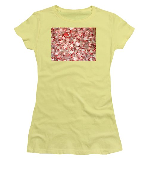 Fun  Mints Women's T-Shirt (Junior Cut) by Beth Saffer