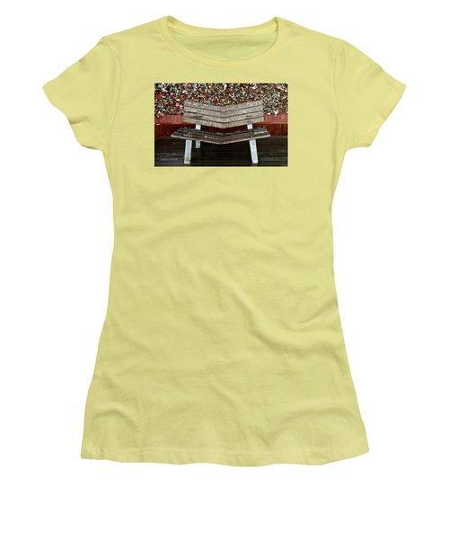 Women's T-Shirt (Junior Cut) featuring the photograph Locks Of Love 2 by Kume Bryant