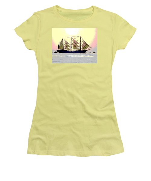 Mystical Voyage Women's T-Shirt (Athletic Fit)